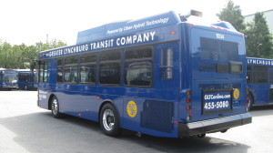 Bus on Lot
